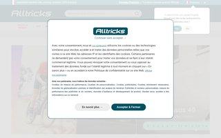 screenshot http://www.alltricks.fr