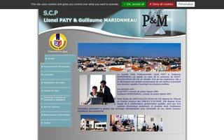 SCP Lionel PATY & Guillaume MARIONNEAU