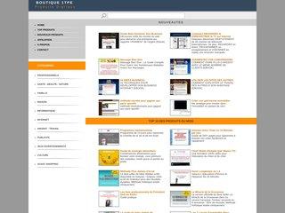 MINI SITE GRAPHIC PACK AVEC DROITS DE REVENTE 20 Modèles professionnels de mini-sites style  Web2.0  en formats HTML, Photoshop et XSitePro