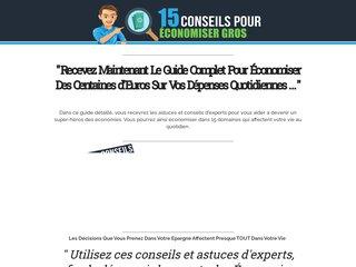 15 conseils pour Economiser GROS 15 conseils pour Economiser GROS