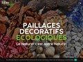 Détails : FibreVerte : Paillages décoratifs écologiques