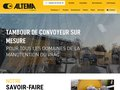 Détails : Tambours pour l'industrie par Altema