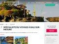 Aperçu du site Voyage à Bali