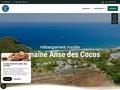 Aperçu du site Anse des Cocos