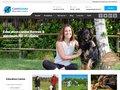 Aperçu du site CaniGuide - Education canine à domicile à Rennes