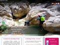 Aperçu du site Canyoning Verdon et Alpes Maritimes