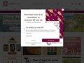 Aperçu du site  Vente vin en ligne