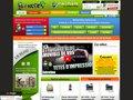 Aperçu du site Encros - spécialiste recharge et vente cartouche