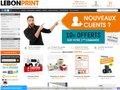 Aperçu du site Lebonprint, imprimeur en ligne de qualité