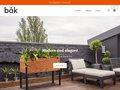 Détails : Bac a fleurs moderne Entreprise québecoise fabrication de boite à fleurs en bois
