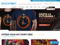 Détails : Checkpoint - Tshirt Geek et Gamer