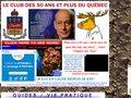 Détails : Le Club des 50 ans du Quebec