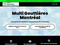Gouttières Montréal