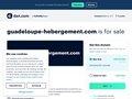 location gites et bungalows Guadeloupe