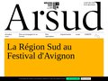 screenshot http://arcade-paca.com Arts du spectacle en provence-alpes-côte d'azur