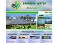 screenshot http://ev-i.fr Energies vertes innovation
