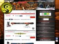 screenshot http://www.arcskilocation.com Accarcskiloc : location de ski, surf sur les arcs