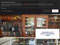 screenshot http://www.armureriesalcet.fr Armurerie salcet artisan armurier en midi pyrénées
