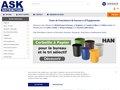 E-COMMERCE : ASK Distribution, STATUTS ET MATERIEL DE GESTION