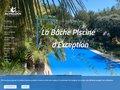 screenshot http://www.bache-piscine.fr Bache piscine