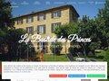 screenshot http://www.bastide-princes.com/ Cours de cuisine et chambres d'hôtes en provence