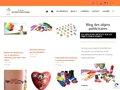 screenshot http://www.blog-objets-publicitaires.fr L'objet publicitaire à son blog !