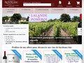 screenshot http://www.chateau-rioublanc.com Château rioublanc : bordeaux et coffrets gourmands