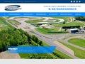 screenshot http://www.circuitouestparisien.com Circuit automobile de l'ouest parisien