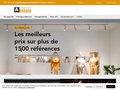 screenshot http://www.comptoiralexandre.com Luminothérapie
