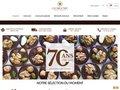 screenshot http://www.confiserie-gumuche.fr Confiserie gumuche, vente de chocolats en ligne