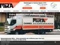 screenshot http://www.demenagements-mira.fr Mira déménagement national international 06