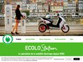 screenshot http://www.ecolostation.com Ecolostation ads technologies