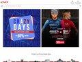 screenshot http://www.ekoi.fr Ekoi casques vélos et accessoires professionels