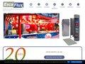 Escaflux, bornes escamotables de distribution d'énergie