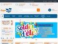 screenshot http://www.expepack.com Emballage et cartons de déménagement discount