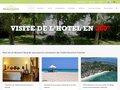 screenshot http://www.gerard-et-francine.com/ Hotel nosy be madagascar gérard et francine