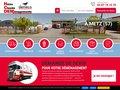 screenshot http://www.heissclaude.com Heiss claude : déménager les particuliers et profe