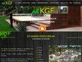 screenshot http://www.kitgardenforest.com Kgf fabricant, constructeur piscines en bois