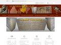 screenshot http://www.lesinterieursdailleurs.com/ Meubles indiens - les intérieurs d'ailleurs