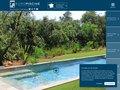 screenshot http://www.mabaleine.com/index.php Mabaleine.com, constructeur eiuropéen de piscines