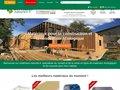 screenshot http://www.materiaux-naturels.fr/ Matériaux naturels pour une maison bio