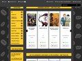 screenshot http://www.momiefolie.com Momie folie: librairies bd et mangas à grenoble