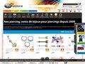 BIJOUTERIE-JOAILLERIE : Achat piercing langue