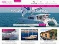 screenshot http://www.onway-location.com Onway, croisière en catamaran