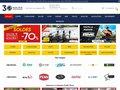 screenshot http://www.pacificpeche.com/ Vente d'articles de pêche à la carpe