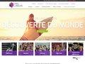 screenshot http://www.prolinguis.ch/fr Sejour linguistique