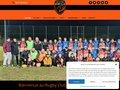 screenshot http://www.rugbyclub-webbellis.com Rugby club webb ellis de menton