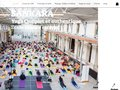 screenshot http://www.sankara.fr Hatha yoga sankara association