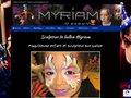 screenshot http://www.sculpteur-de-ballon.com Myriam, maquilleuse et sculpteur de ballon