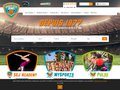 screenshot http://www.sportselitejeunes.fr Sej - stages et séjours sportifs football, basket,